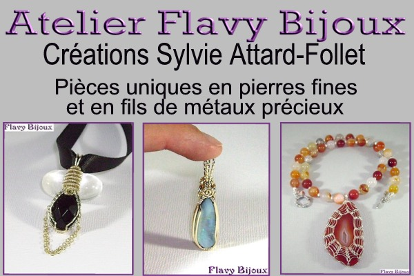 creation artisanale de bijoux en pierres fines